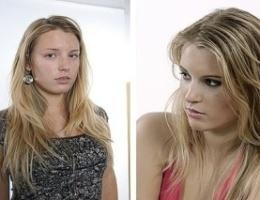 Pred a po retušovaní