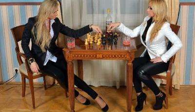 Módna fotografia-šachy